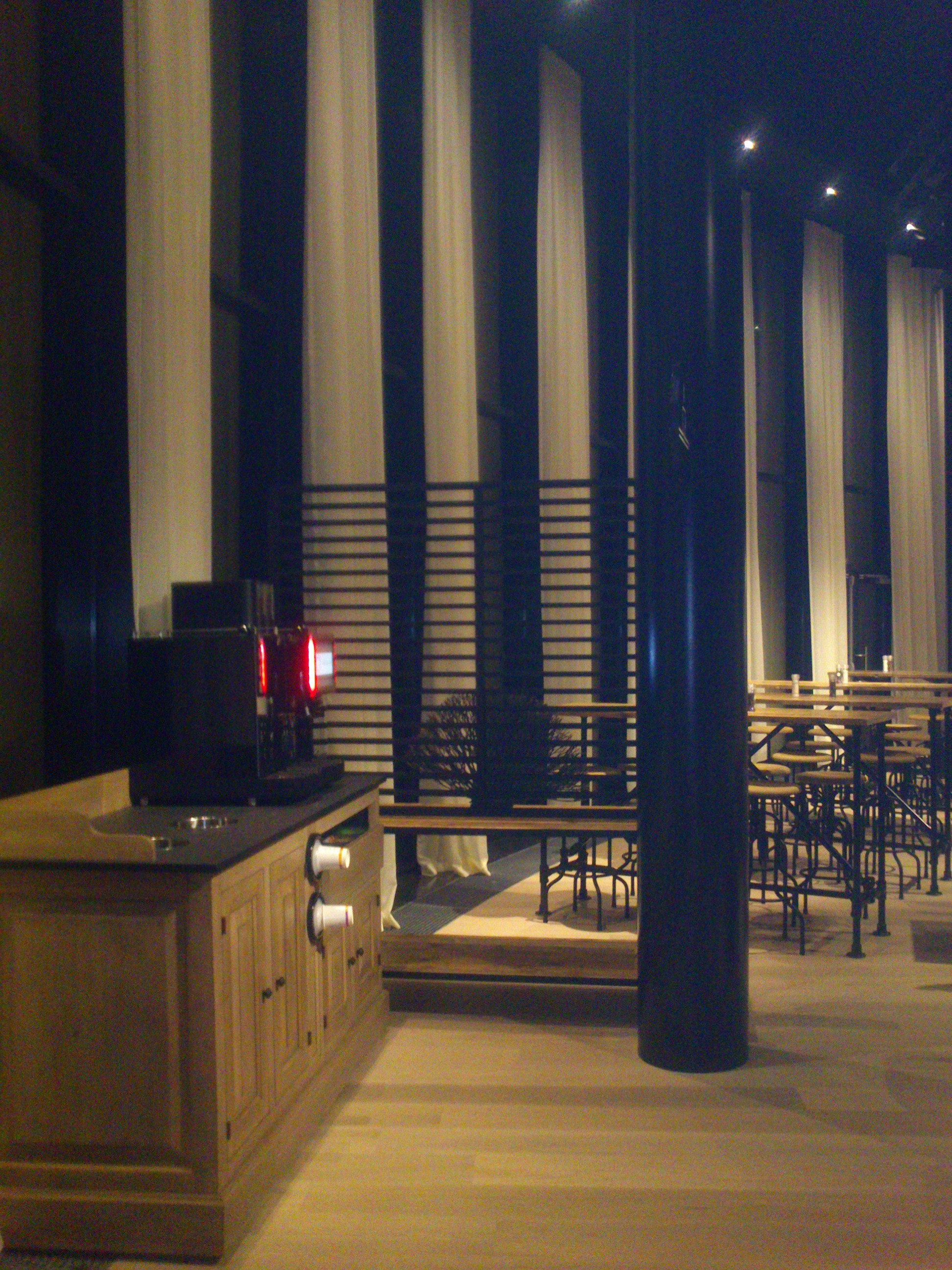 Brasserie/Gordijnen Kobe