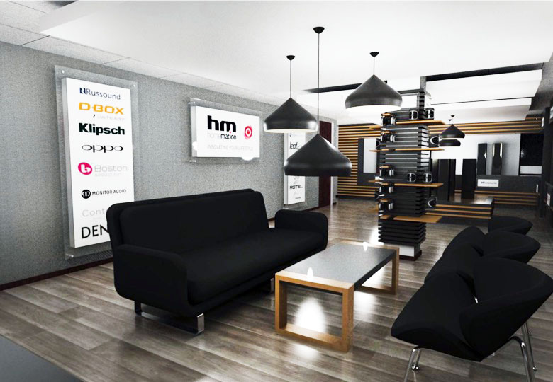 Homeation Showroom Concept