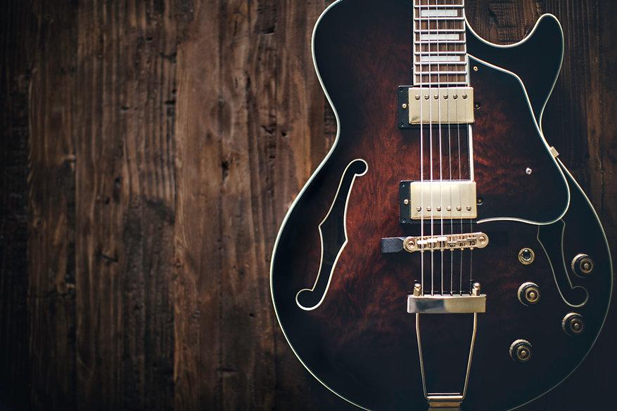 Semi Hollow Guitare électrique