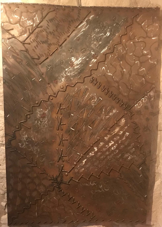 Steel Crazy Quilt