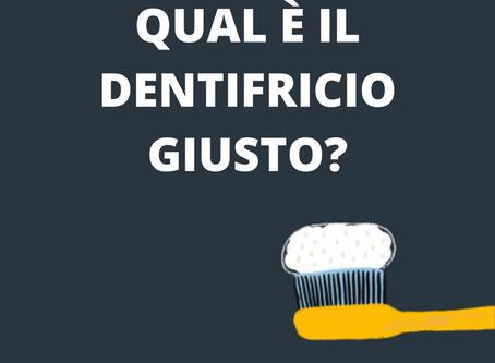 Dentifricio: qual è quello giusto?