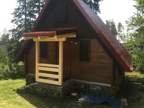Rekonstrukce strechy na chate