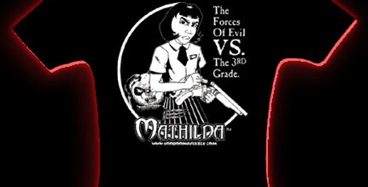 ORIG Mathilda Black Women's Cap Sleeve Shirt– One Size