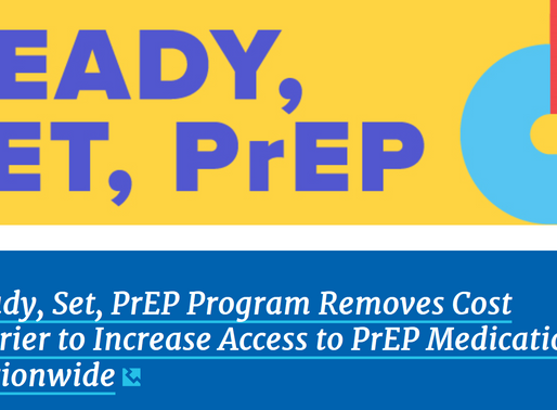 Ending the HIV Epidemic : Ready, Set, PrEP