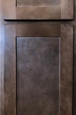 Saddle Hickory Shaker Sample Door