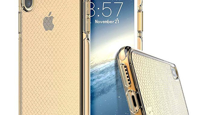 Prodigee iPhone X Safetee Case GOLD