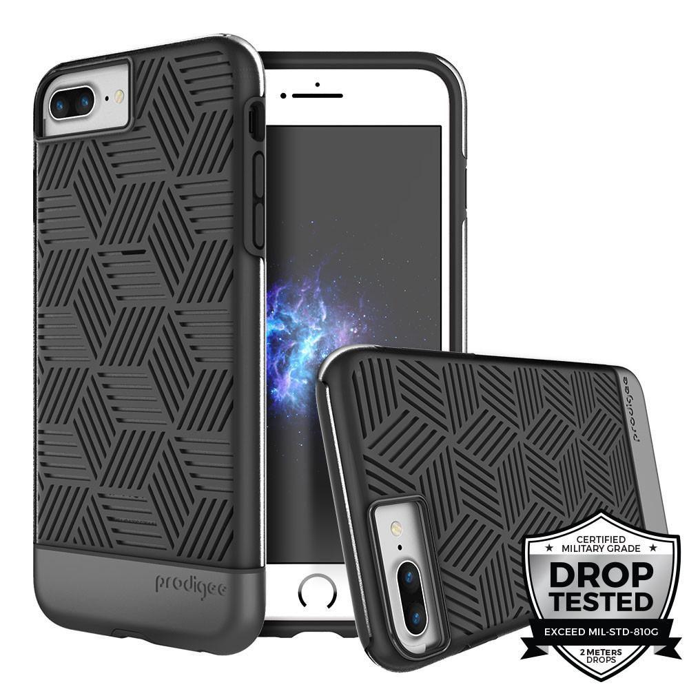 Prodigee iPhone 7+ / 8+ Stencil Case BLACK