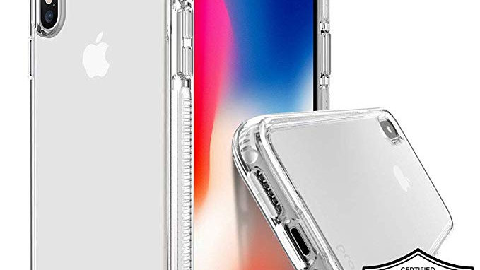 Prodigee iPhone XR Safetee Steel Case WHITE