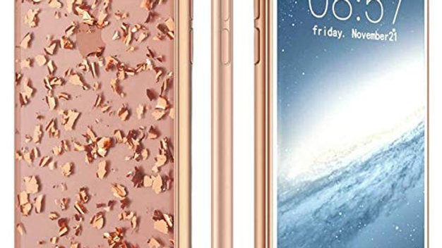 Prodigee iPhone X Treasure Case ROSE GOLD