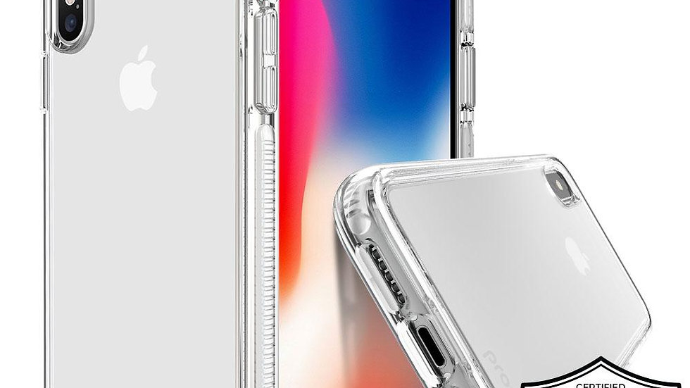 Prodigee iPhone XS Max Safetee Steel Case White