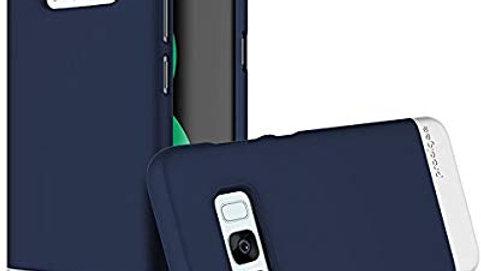 Prodigee Samsung Galaxy S8+ Accent Case NAVY/SILVER