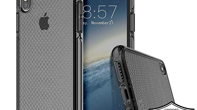 Prodigee iPhone XS Max Safetee Case SMOKE