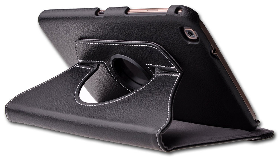 "Generic Samsung Galaxy Tab 3 8"" 360 Leather Folder Case"