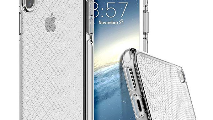 Prodigee iPhone X Safetee Case SILVER
