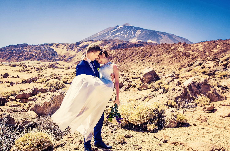свадебная фотосессия на тенерифе