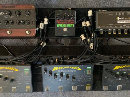 ODB's Acoustic Pedal Board