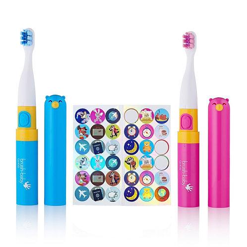 Brush Baby Go Kidz - Electric Travel Toothbrush (3 - 6 years)