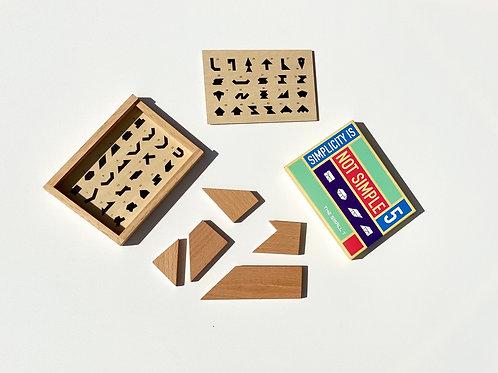 open wooden box
