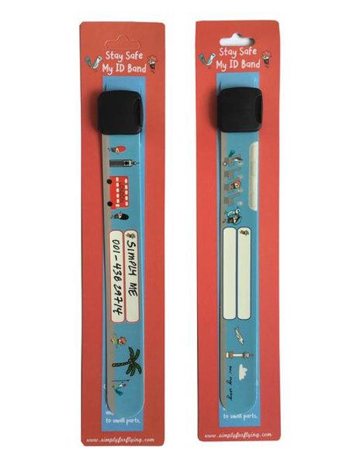 Simply for Flying - Kids ID reusable wrist band