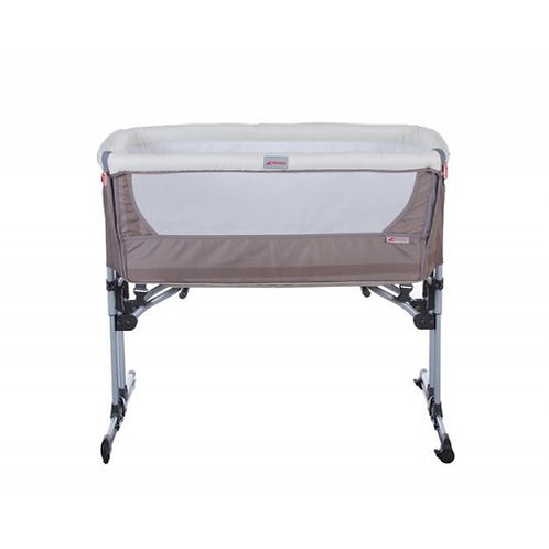 Zibos Ala Bedside Crib - Sand (With Travel Bag & Mosquito Net)