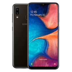 Samsung Galaxy A20 (Black)