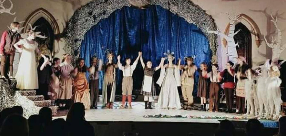 "Original Cast of ""The Snow Queen"""