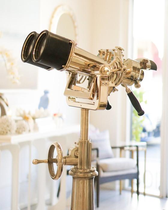 20 X 120 Kollmorgen Mark I 45-degree Binoculars