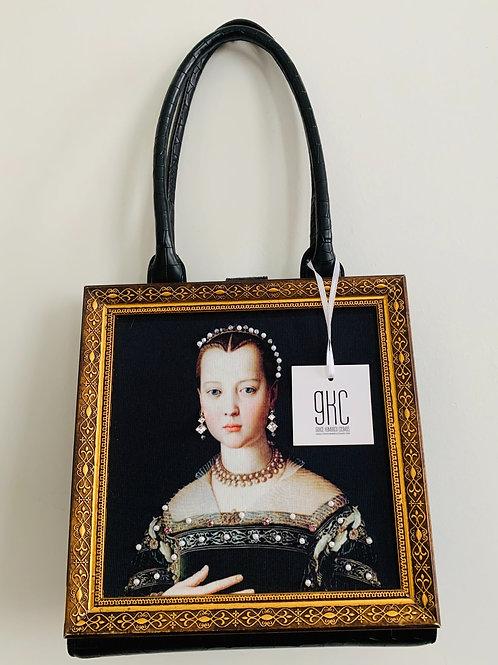 Iconic Young MarieFrame Handbag