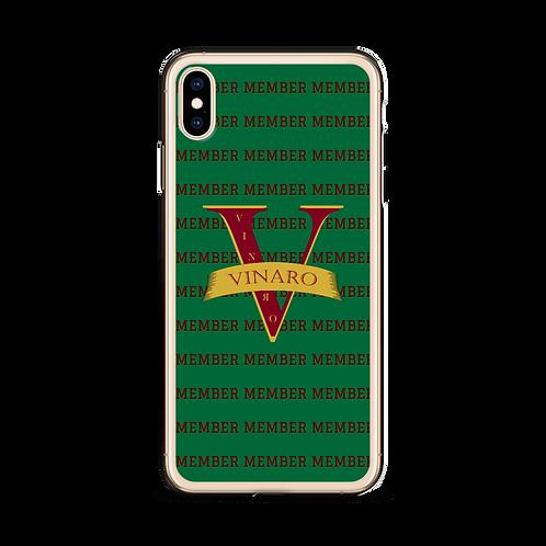 Vinaro iPhone Case Green
