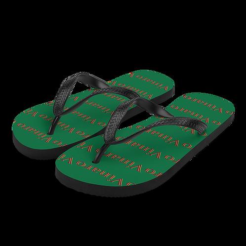 Vinaro Flip-Flops Green