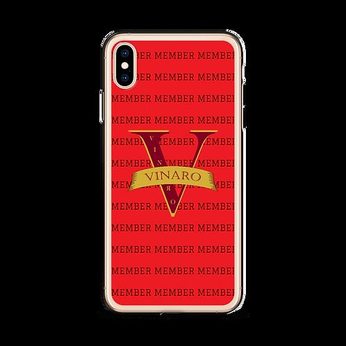Vinaro iPhone Case Red