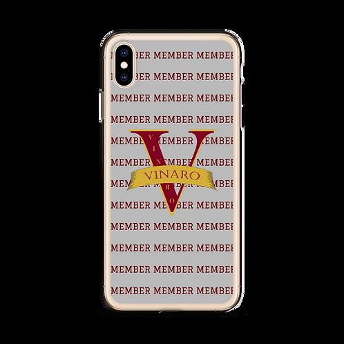 Vinaro iPhone Case Grey