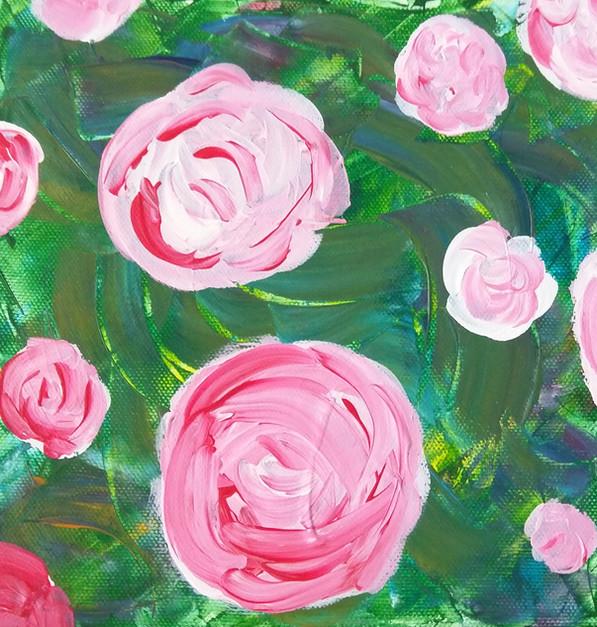 "Série ""Fleurs"" tableau 1/3"