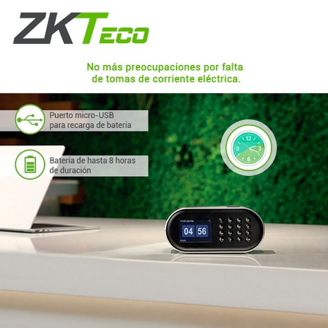 Puerto y Bateria ZKTeco D1.