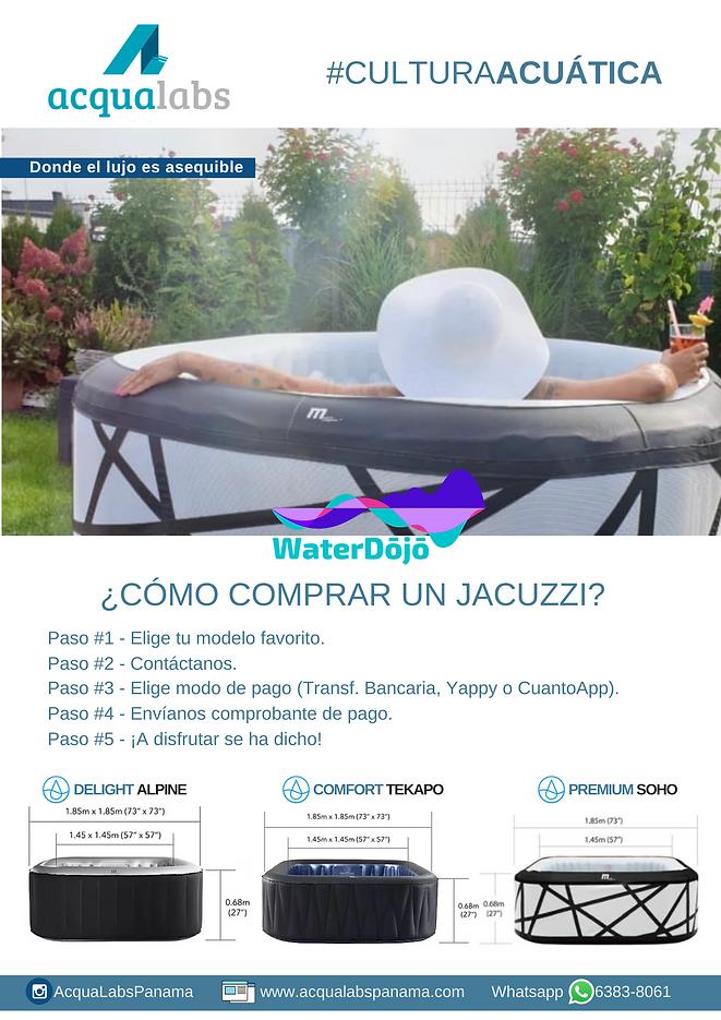 ¿Cómo comprar un Jacuzzi? : AcquaLabs P