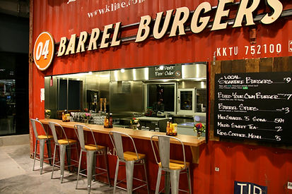 Whole Food Barrel Burger & Beer Joint