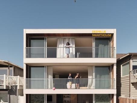 Prefab minimalist modern luxury villa