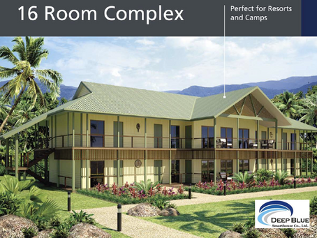 16 room Complex Perfect for Resorts and camps