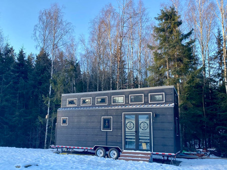 Glamping In A Tiny House In the Forest