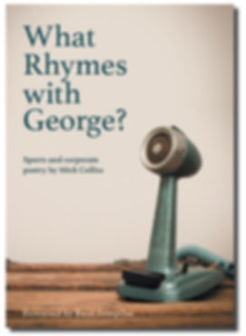 What rhymes with George?