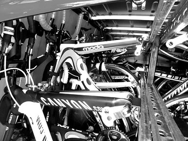Racked Cycle Transport