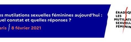 Vidéoconférence mutilations sexuelles du 08/02/2021