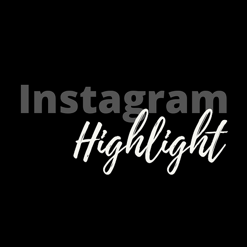 Instagram Highlight Feature