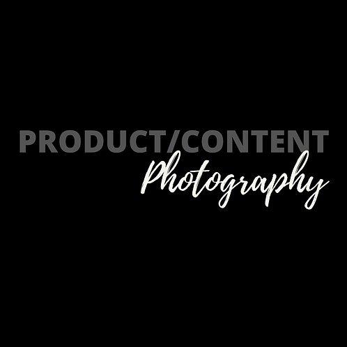Product/Content Photography
