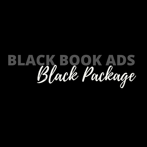 Black Book Ads Black Package