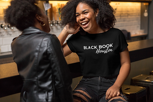 Black Book Houston Women's Crop Tee Black