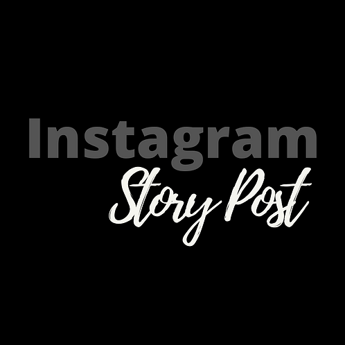 Instagram Story Promo