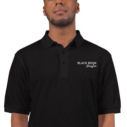 Men's Black Book Houston Polo