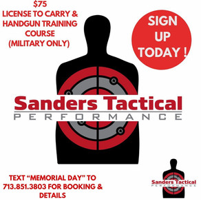Sanders Tactical Performance