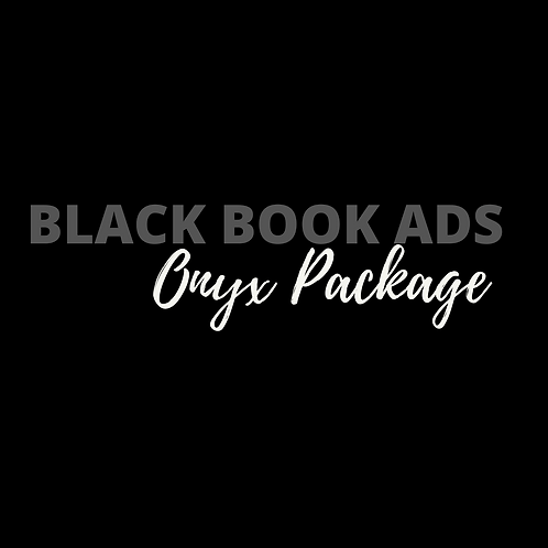 Black Book Ads Onyx Package